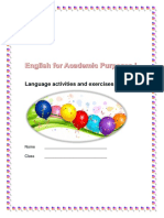 Language Activities and Exercises 1