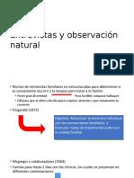 Entrevistas y Observacion Natural