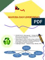 Manusia & Lingkungan