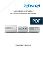 Centrifuges Manual New
