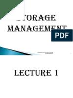 Chapter1 Storage Management