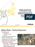 Preventative Maintenance Training Final