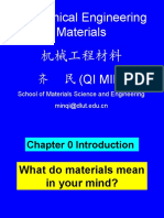 Chapter 0 Introduction 2016 of mechanical metarials