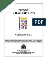 Admon-Piense y Hagase Rico PDF