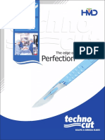 Technocut & GlassVan Surgical Blades - The edge of perfection