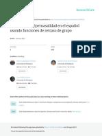 Detección de Hipernadalidad - Paper
