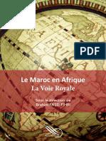Maroc Afrique La Voie Royale 2015