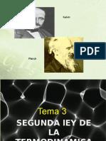 TEMA 3 - Segunda Ley-2017