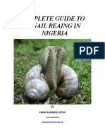 Complete Guide to Snail Reaing in Nigeria
