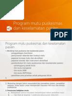 Program mutu puskesmas dan keselamatan pasien revisi mei.pptx