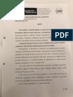 Nota  inspectorului Elena Radulescu