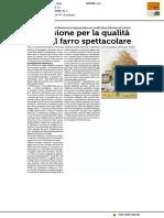 La passione per la qualità rende il farro spettacolare - La Repubblica del 2 settembre 2017