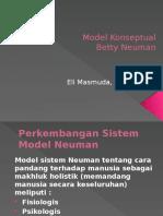 Model Konseptual B. Neuman