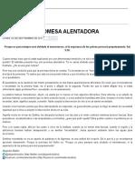 Ministério Bullón Promesa Alentadora 4 Sept 2017
