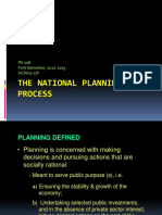 The National Planning Process