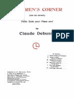 Debussy - Children's corner.pdf