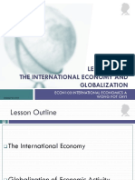 Lesson 01a the International Economy and Globalization