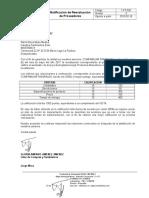 1-Ft-026 Notificacion de Reevaluacion a Proveedores