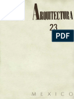 Revista Arquitectura México No. 23