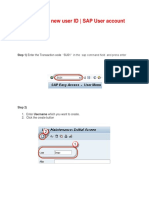 How to Create New User ID