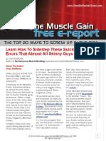 Del Monte Muscle Gain