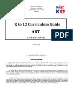 Art Curriculum Guide Grades 1-10 December 2013