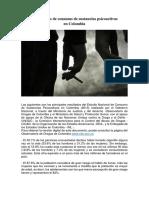 Estadísticas Drogadicción en Colombia