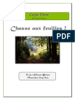 Chasse Aux Feuilles ! (Sciences de La Vie - Carpe Diem)