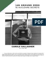 American Ground Zero - La Guerre Nucléaire Secrète - Carole Gallagher (1993)