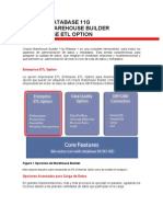 Oracle Warehouse Builder 11g ETL Option