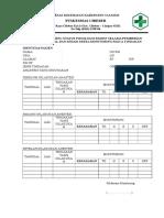 Form Monitoring Status Fisikologis Pasien