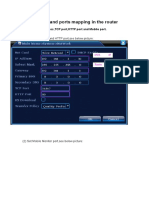 IP Address and Ports Mapping Instruction