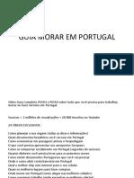 Guia Morar Em Portugal