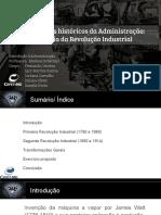 Influência Da Revolução Industrial na administração