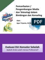 Pemanfaatan Media Dan Teknologi Dalam Bimbingan Dan Konseling