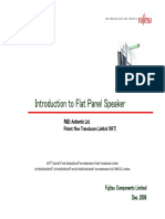 0812_Introduction to Flat Panel Speaker