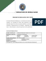 Proyecto 2017 - 2018 Segundo Año11111