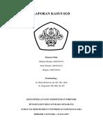 Cover Laporan Kasus IGD