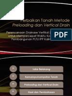 Metode Preloading dan Vertical Drain_Nuraini Azizah_15315206.pptx