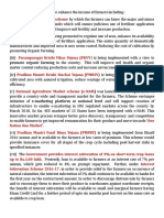 Agriculture Notes Pib
