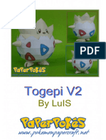 Togepi V2 A4 Lineless