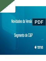 Novidades Da V12 - Segmento C&P