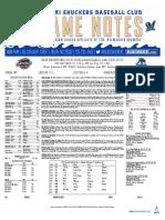 9.4.17 at MOB Game Notes