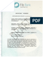 Draft Fib Bank Carta de Garantia