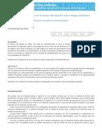 Error Analysis en El Campo Del Español (1)