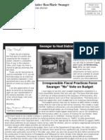 Swanger Fall 2010 Newsletter