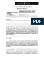 Relatório Parcial 2017 - Luana Rech