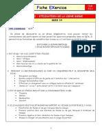 FEX F2.1 ARI Utilisation de La Ligne Guide