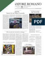 l'Osservatore Romano [Lu 4 y Ma 5 Sept 2017]