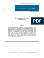 The Journal of Law Enforcement - Investigating Child Abuse